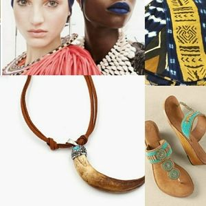 Tribal Necklace African Boho